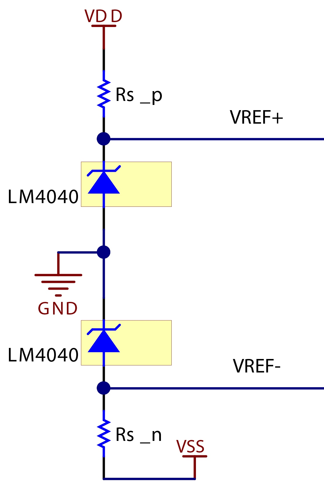 Shunt Versus Series How To Select A Voltage Reference Topology Controlled Resistor Pictures Figure 6 Positive And Negative Rails