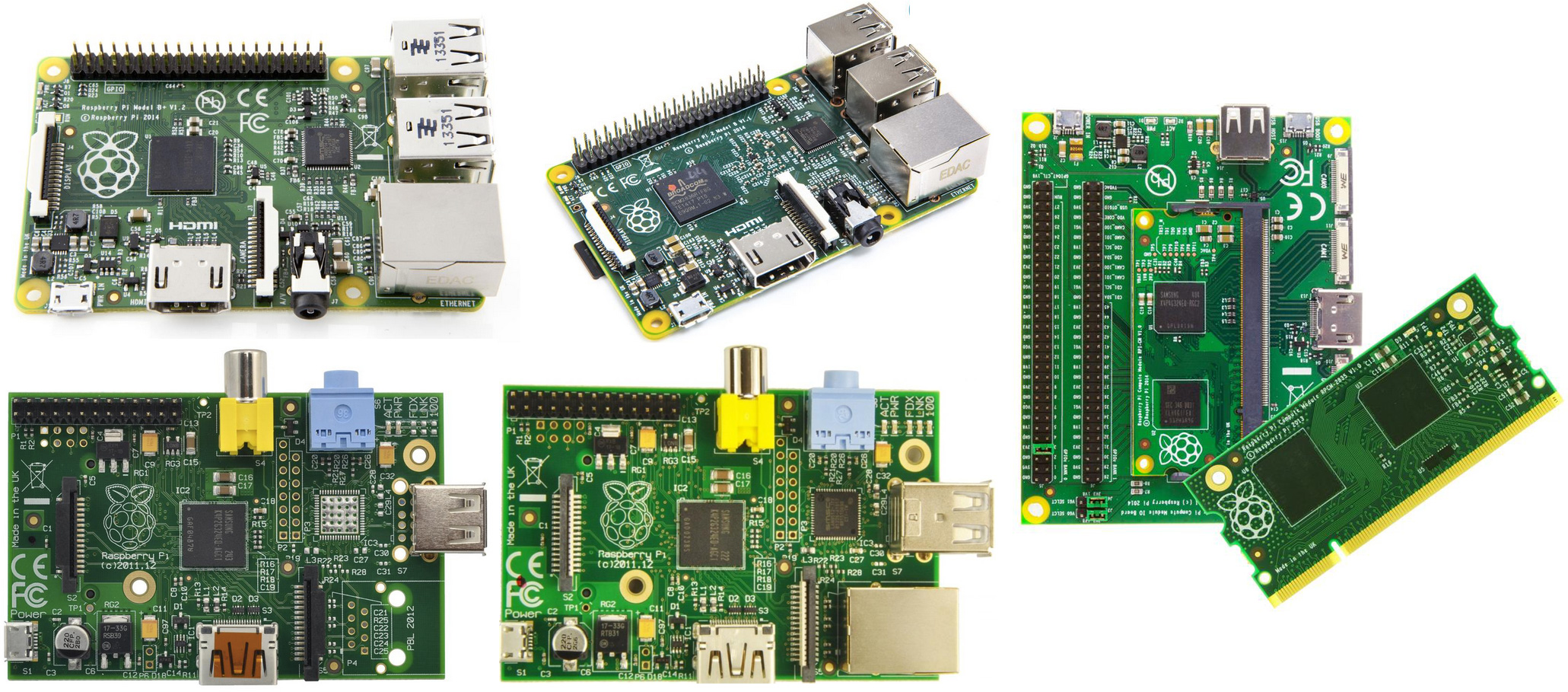 Raspberry Pi Goes Custom For Industrial Commercial Applications Model B Block Diagram 2 A And Compute Module