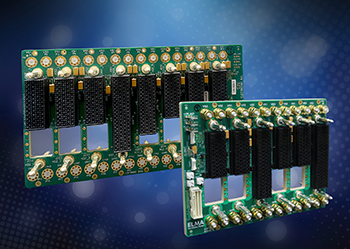 25 Gb OpenVPX & SOSATM Optical and RF Backplanes