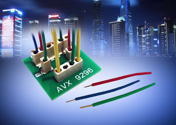 AVX introduces new connector designed for industrial and solid-state lighting applications.